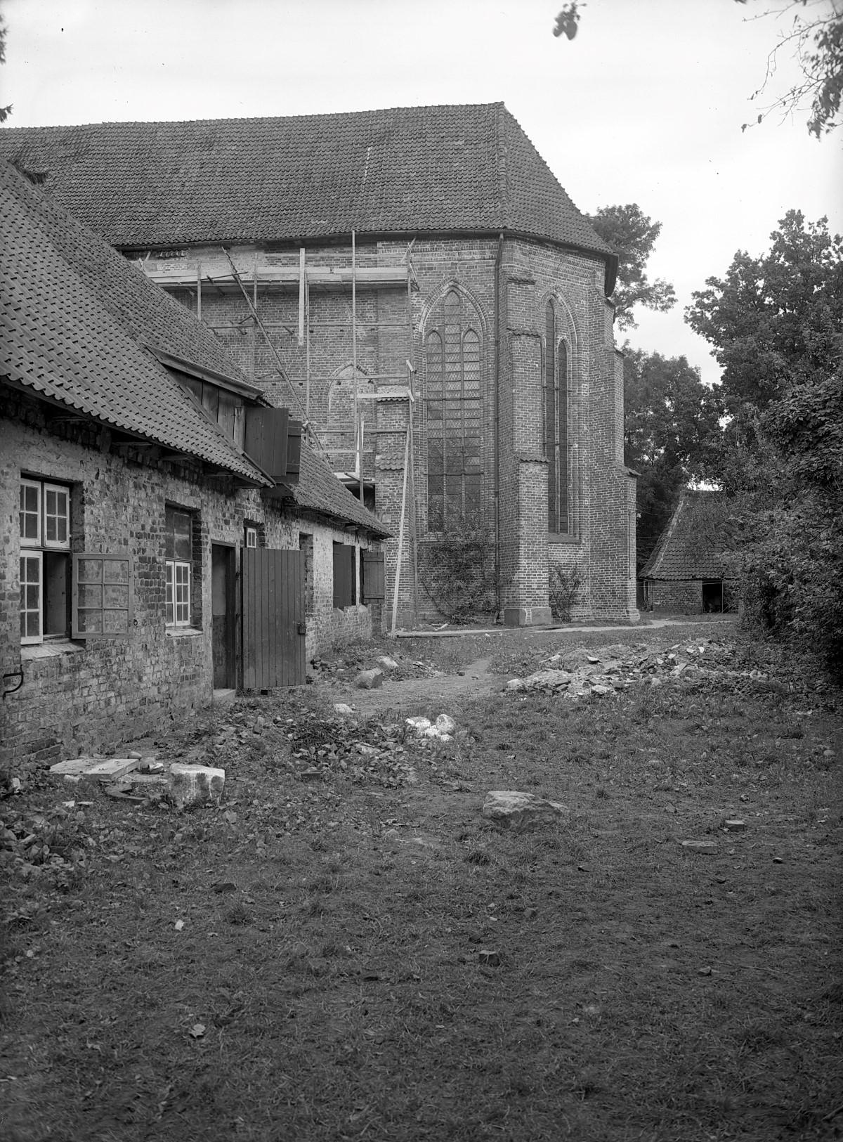 Südost-Seite der Klosterkirche mit ehemaligem Dormitorium