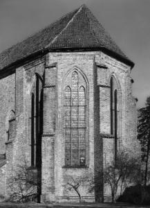 Klosterkirche, Chor von Süd-Ost, Foto 1951