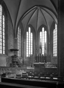 Klosterkirche, Inneres gegen Nord-Ost., Foto 1955