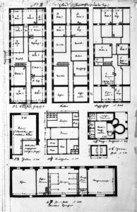 Nebengebäude, Grundrisse